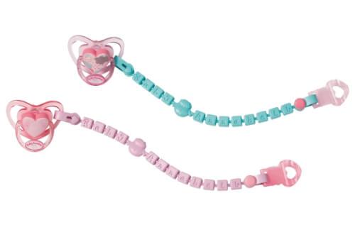 Zapf Baby Annabell® Schnuller mit Clip, ab 3 Jahren