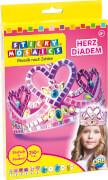 Sticky Mosaics: Heart Tiara