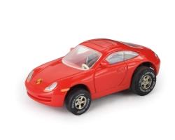 darda Porsche rot