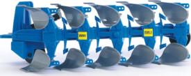Bruder 02331 Zubehör: Lemken Wendepflug, ab 3 Jahren, Maße: 25 x 11 x 15 cm, Kunststoff