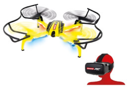 CARRERA RC - Quadrocopter HD Next, FPV