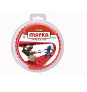 MAYKA TAPE - SMALL 1M 2 NOPPEN - ROT