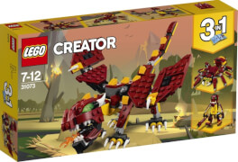 LEGO® Creator 31073 Fabelwesen, 223 Teile, ab 7 Jahre