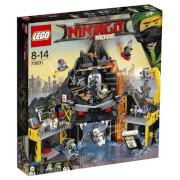 THE LEGO® NINJAGO® Movie - 70631 Garmadons Vulkanversteck, 521 Teile