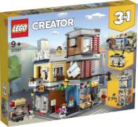 LEGO® Creator 31097 Stadthaus mit Zoohandlung & Café