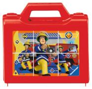 Ravensburger 074372 Puzzle: Feuerwehrmann Sam, Sam der tapfere Feuerwehrmann 6 Teile