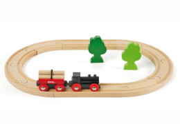 BRIO 33042002 Bahn Starterset, ab 36 Monate - 10 Jahre, Holz