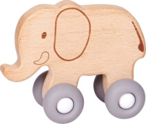 Schiebe-Elefant aus Holz  BabyGlück