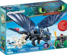 Playmobil 70037 Ohnezahn und Hicks mit Babydrachen