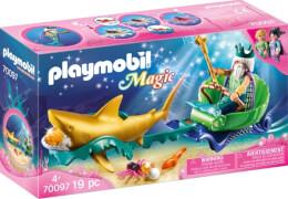 Playmobil 70097 Meereskönig mit Haikutsche