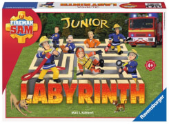 Ravensburger 212828 Feuerwehrmann Sam Junior Labyrinth, Kinderspiel