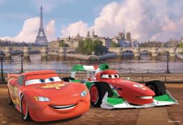 Ravensburger 075546  Puzzle Disney Cars Lightning McQueen&seine Freunde 2x12T.