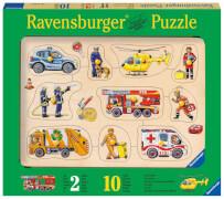 Ravensburger 36813 Puzzle: Im Einsatz 10 Teile