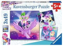 Ravensburger 08027 Puzzle Abenteuer mit den Ponys 3x49 Teile