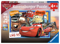 Ravensburger 78196 Puzzle: Disney Cars, 2x24 Teile