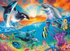 Ravensburger 12900 Puzzle Ozeanbewohner 200 Teile XXL