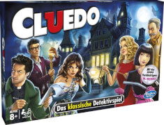 Hasbro 38712398 Cluedo, für 2-6 Spieler, ab 8 Jahren