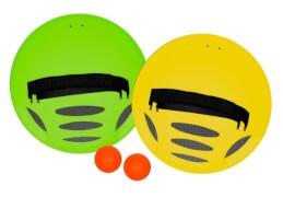 Outdoor active Bounceball Spiel, Outdoorspielzeug, ca. 39,37x21,60x6,03 cm, für 2 Spieler, ab 3 Jahren