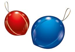 Punchballons, 2 Stück, Durchm.: 45 cm
