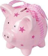 Die Spiegelburg - BabyGlück - Mein erstes Sparschweinchen, rosa, aus Keramik