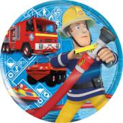 P:OS Feuerwehrmann Sam, Frühstücksset 3tlg, Melamin, im Sleeve